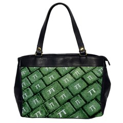 Pi Grunge Style Pattern Office Handbags by dflcprints