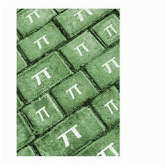 Pi Grunge Style Pattern Large Garden Flag (two Sides) by dflcprints