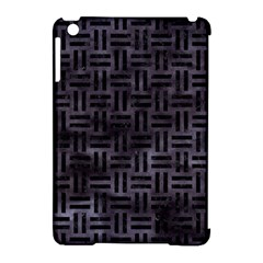 Woven1 Black Marble & Black Watercolor (r) Apple Ipad Mini Hardshell Case (compatible With Smart Cover) by trendistuff