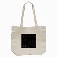 Woven1 Black Marble & Black Watercolor Tote Bag (cream) by trendistuff
