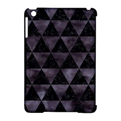 Triangle3 Black Marble & Black Watercolor Apple Ipad Mini Hardshell Case (compatible With Smart Cover) by trendistuff