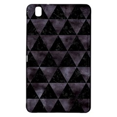 Triangle3 Black Marble & Black Watercolor Samsung Galaxy Tab Pro 8 4 Hardshell Case by trendistuff
