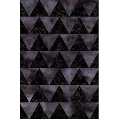 Triangle2 Black Marble & Black Watercolor 5 5  X 8 5  Notebook by trendistuff