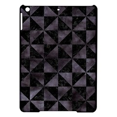 Triangle1 Black Marble & Black Watercolor Apple Ipad Air Hardshell Case by trendistuff