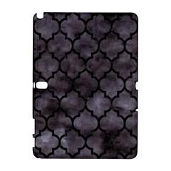Tile1 Black Marble & Black Watercolor (r) Samsung Galaxy Note 10 1 (p600) Hardshell Case by trendistuff