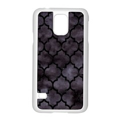 Tile1 Black Marble & Black Watercolor (r) Samsung Galaxy S5 Case (white) by trendistuff