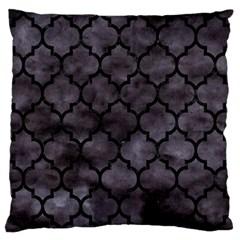 Tile1 Black Marble & Black Watercolor (r) Standard Flano Cushion Case (one Side) by trendistuff