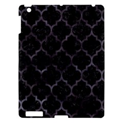 Tile1 Black Marble & Black Watercolor Apple Ipad 3/4 Hardshell Case by trendistuff