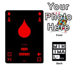 Minimaldeck1 By Frollo   Playing Cards 54 Designs   Wiue4e1a84vf   Www Artscow Com Front - Heart7