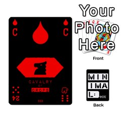 Minimaldeck1 By Frollo   Playing Cards 54 Designs   Wiue4e1a84vf   Www Artscow Com Front - Diamond8