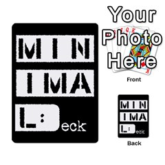 Minimaldeck1 By Frollo   Playing Cards 54 Designs   Wiue4e1a84vf   Www Artscow Com Back