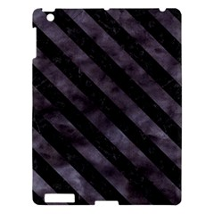 Str3 Bk Mrbl Bk Wclr (r) Apple Ipad 3/4 Hardshell Case by trendistuff
