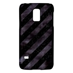 Stripes3 Black Marble & Black Watercolor Samsung Galaxy S5 Mini Hardshell Case  by trendistuff