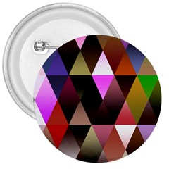Triangles Abstract Triangle Background Pattern 3  Buttons by Simbadda