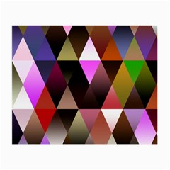 Triangles Abstract Triangle Background Pattern Small Glasses Cloth by Simbadda