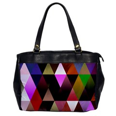 Triangles Abstract Triangle Background Pattern Office Handbags by Simbadda