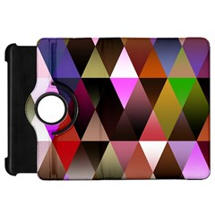 Triangles Abstract Triangle Background Pattern Kindle Fire Hd 7  by Simbadda