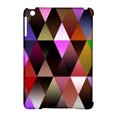 Triangles Abstract Triangle Background Pattern Apple Ipad Mini Hardshell Case (compatible With Smart Cover) by Simbadda