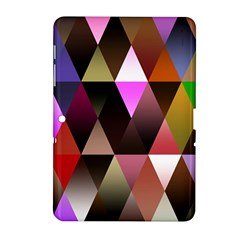 Triangles Abstract Triangle Background Pattern Samsung Galaxy Tab 2 (10 1 ) P5100 Hardshell Case  by Simbadda