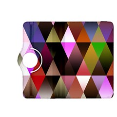 Triangles Abstract Triangle Background Pattern Kindle Fire Hdx 8 9  Flip 360 Case by Simbadda