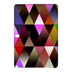 Triangles Abstract Triangle Background Pattern Samsung Galaxy Tab Pro 10 1 Hardshell Case by Simbadda