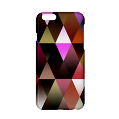 Triangles Abstract Triangle Background Pattern Apple Iphone 6/6s Hardshell Case by Simbadda
