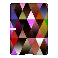 Triangles Abstract Triangle Background Pattern Samsung Galaxy Tab S (10 5 ) Hardshell Case  by Simbadda