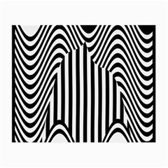 Stripe Abstract Stripped Geometric Background Small Glasses Cloth (2 Side) by Simbadda