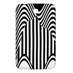 Stripe Abstract Stripped Geometric Background Samsung Galaxy Tab 3 (7 ) P3200 Hardshell Case  by Simbadda