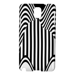 Stripe Abstract Stripped Geometric Background Samsung Galaxy Note 3 N9005 Hardshell Case by Simbadda