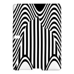 Stripe Abstract Stripped Geometric Background Samsung Galaxy Tab S (10 5 ) Hardshell Case  by Simbadda