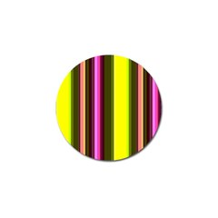 Stripes Abstract Background Pattern Golf Ball Marker by Simbadda