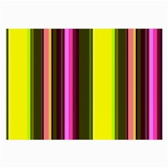 Stripes Abstract Background Pattern Large Glasses Cloth (2 Side) by Simbadda