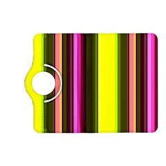 Stripes Abstract Background Pattern Kindle Fire Hd (2013) Flip 360 Case by Simbadda