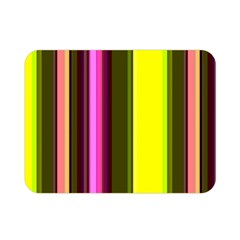 Stripes Abstract Background Pattern Double Sided Flano Blanket (mini)  by Simbadda