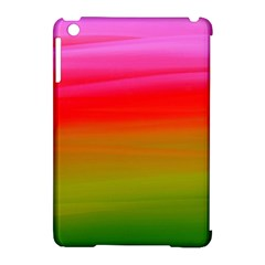 Watercolour Abstract Paint Digitally Painted Background Texture Apple Ipad Mini Hardshell Case (compatible With Smart Cover) by Simbadda