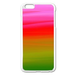 Watercolour Abstract Paint Digitally Painted Background Texture Apple Iphone 6 Plus/6s Plus Enamel White Case by Simbadda