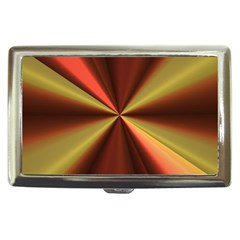Copper Beams Abstract Background Pattern Cigarette Money Cases by Simbadda