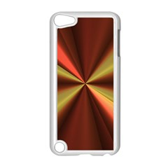 Copper Beams Abstract Background Pattern Apple Ipod Touch 5 Case (white) by Simbadda