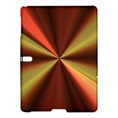 Copper Beams Abstract Background Pattern Samsung Galaxy Tab S (10 5 ) Hardshell Case  by Simbadda
