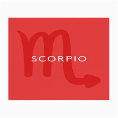 Zodiac Scorpio Small Glasses Cloth by Mariart