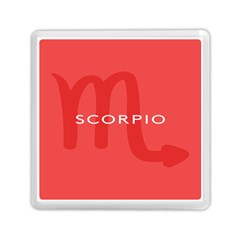 Zodiac Scorpio Memory Card Reader (square)  by Mariart