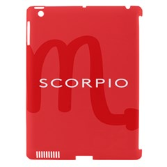 Zodiac Scorpio Apple Ipad 3/4 Hardshell Case (compatible With Smart Cover) by Mariart