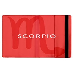 Zodiac Scorpio Apple Ipad 2 Flip Case by Mariart