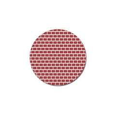 Brick Line Red White Golf Ball Marker (10 Pack) by Mariart