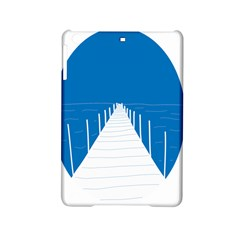 Bridge Sea Beack Blue White Ipad Mini 2 Hardshell Cases by Mariart