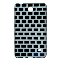 Bricks Black Blue Line Samsung Galaxy Tab 4 (8 ) Hardshell Case  by Mariart