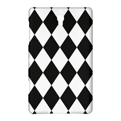 Broken Chevron Wave Black White Samsung Galaxy Tab S (8 4 ) Hardshell Case  by Mariart