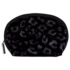 Skin5 Black Marble & Black Watercolor (r) Accessory Pouch (large) by trendistuff