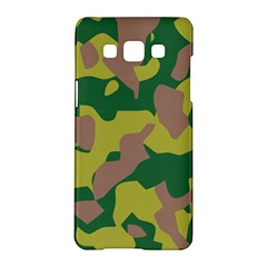 Camouflage Green Yellow Brown Samsung Galaxy A5 Hardshell Case  by Mariart